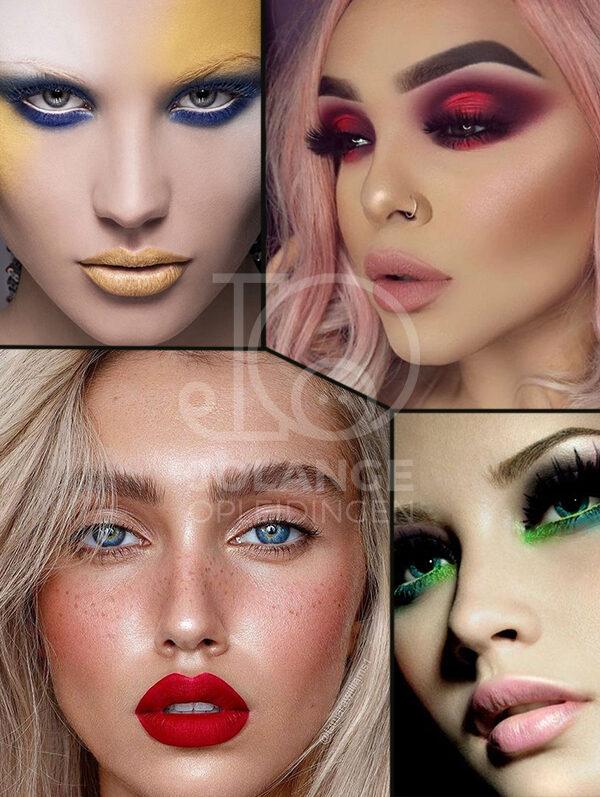 kleur make-up bruiden