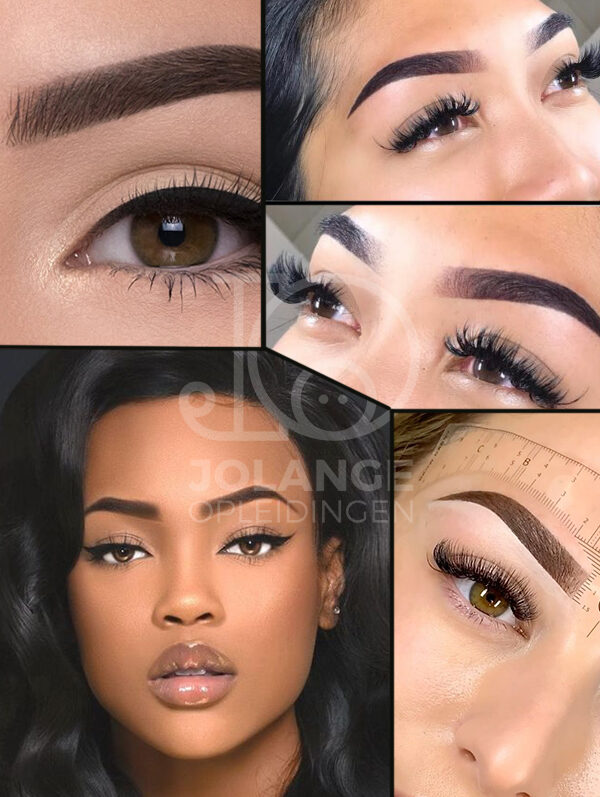 Ombre glamour brows opleiding