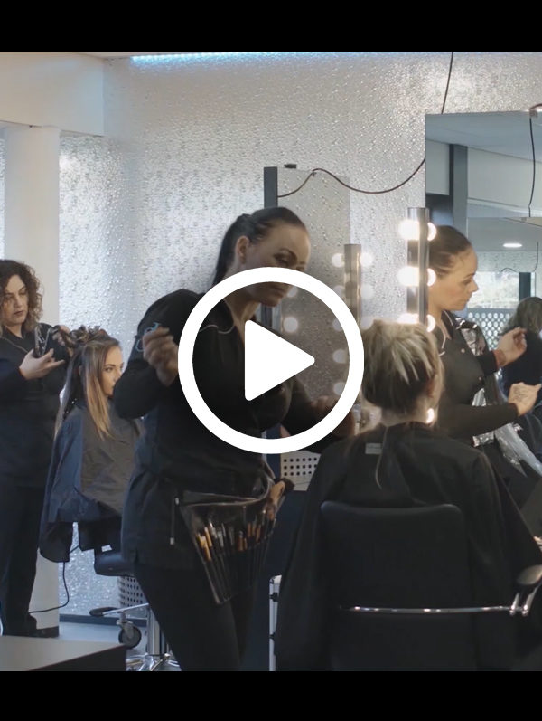 filmpje visagie en hairstyling website Jolange Opleidingen